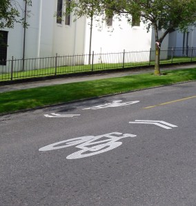 seattle sharrows